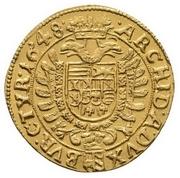 1 ducat Ferdinand III (Vienna) -  revers