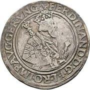 1 reichsthaler 72 kreuzer Ferdinand I (Hall) -  avers
