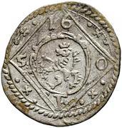 1 pfennig Ferdinand III (Graz) – avers