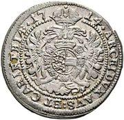 3 kreuzer Charles VI (St Veit) -  revers