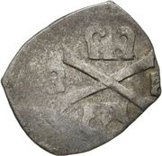 1 pfennig Charles V (Vienne) – revers