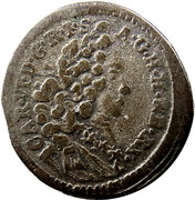 1 kreuzer Charles VI (Munich) -  avers
