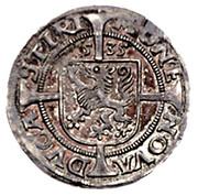 6 kreuzer Ferdinand I (Graz) -  revers