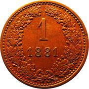 1 kreuzer Francois-Joseph I -  revers