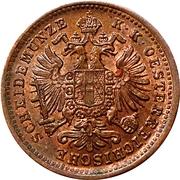 1 kreuzer Francois-Joseph I (grand aigle) -  avers