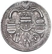 double guldiner  Maximilian I (Hall) -  revers