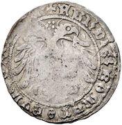 1 gros Frédéric III - V (Graz) – avers