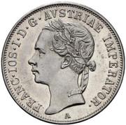 20 kreuzer Franz Joseph I -  avers