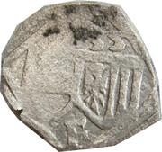 1 pfennig Ferdinand I (Linz) – avers
