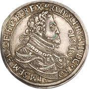 1 thaler Rudolf II (Hall) -  avers