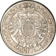 1 thaler Leopold I (Vienne) -  revers
