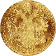 4 ducats Franz Joseph I -  revers