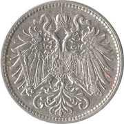 10 heller - Franz Joseph I -  avers