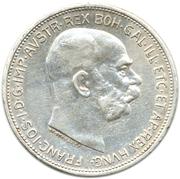 2 couronne Franz Joseph I -  avers