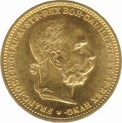 20 couronne Franz Joseph I -  avers
