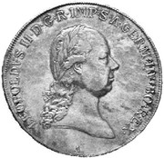 1 thaler Léopold II (Vienne) -  avers