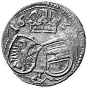 2 pfennig Ferdinand II (Vienne) – avers