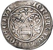 1 achter Frédéric III - V (Wiener Neustadt) – revers