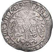 groschen Frédéric III-V (Graz) – avers