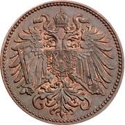 2 heller  Franz Joseph I -  avers