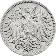 10 heller Franz Joseph I -  avers