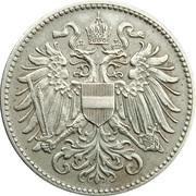 10 heller  Karl I -  avers