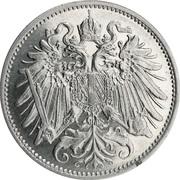 20 heller Franz Joseph I -  avers