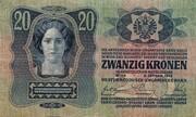 20 Kronen -  avers