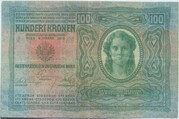 100 Kronen -  avers