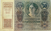 50 Kronen – avers