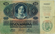 50 Kronen – revers