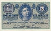 2 Kronen – avers