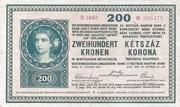 200 Kronen – avers