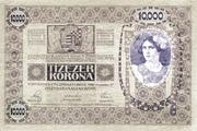 10000 Kronen – revers