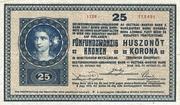 25 Kronen – avers