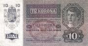 10 Kronen – revers