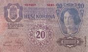 20 Kronen (2nd edition) – revers