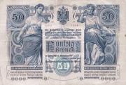 50 Kronen -  avers