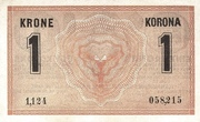 1 Krone – revers