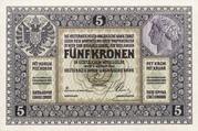 5 Kronen – avers