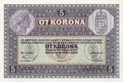 5 Kronen – revers