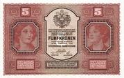 5 Kronen -  avers