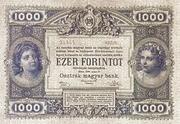 1000 Gulden – revers