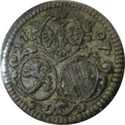 1/2 kreuzer Joseph I (Graz) – avers