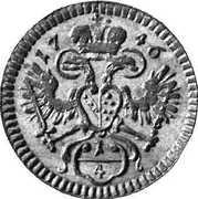 ¼ kreuzer Francois I (Vienne) – avers