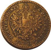 5/10 kreuzer Franz Joseph I -  avers