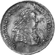 7 kreuzer Joseph II -  avers