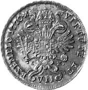 7 kreuzer Joseph II -  revers