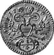 ¼ kreuzer Marie Thérèse (Vienne) – avers