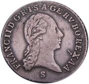1 kreuzer François II -  avers